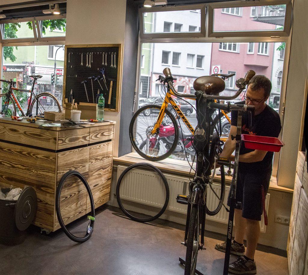 Cyclocross reparieren